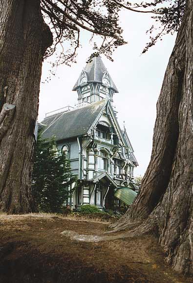 Fancyhouse on Carson Mansion Eureka California